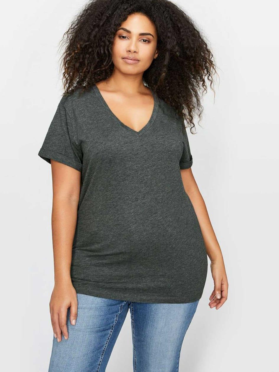 L&L Heathered Boyfriend T-Shirt
