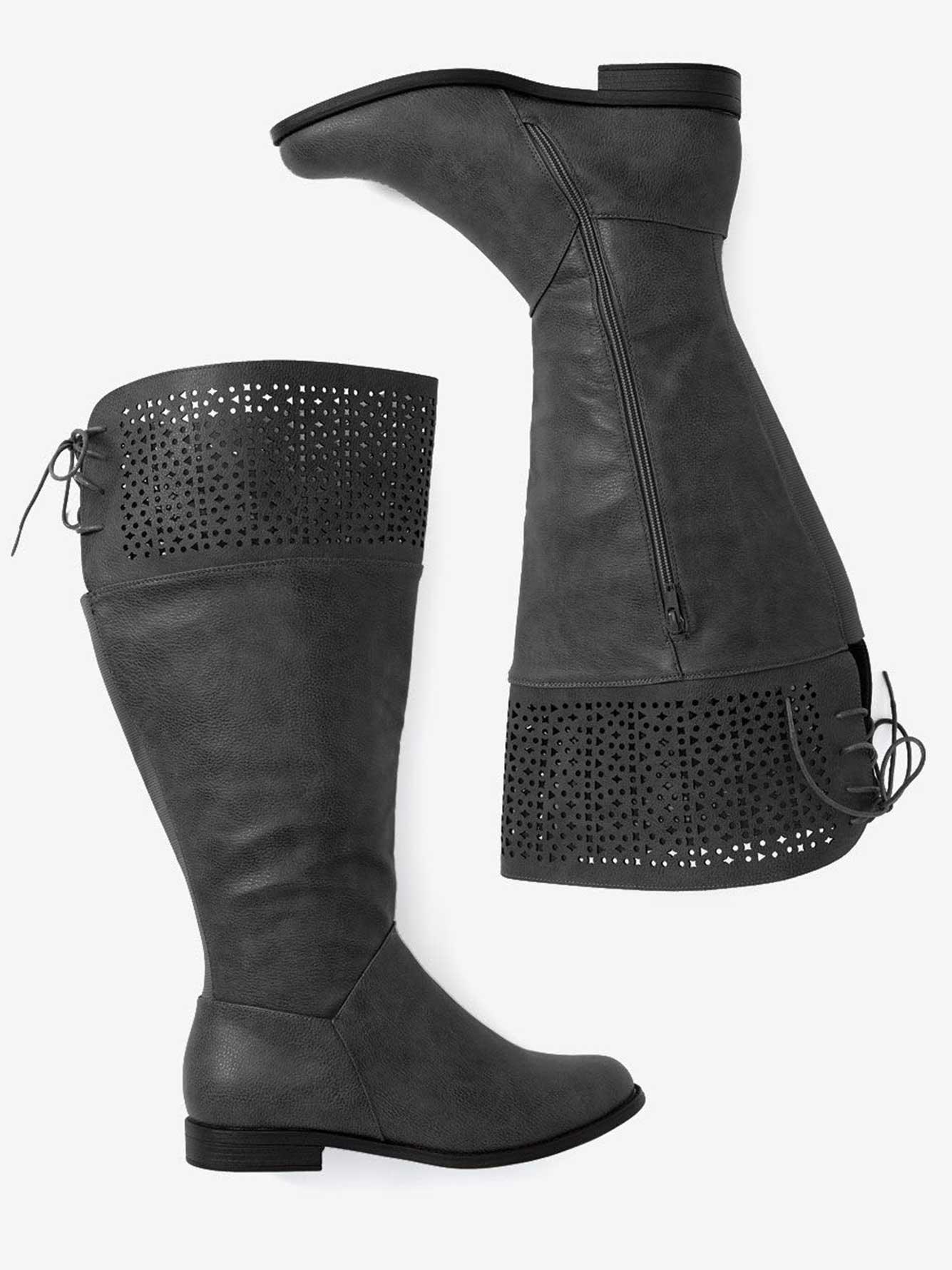 554f8a2d2b78 Natasha Perforated High Boot