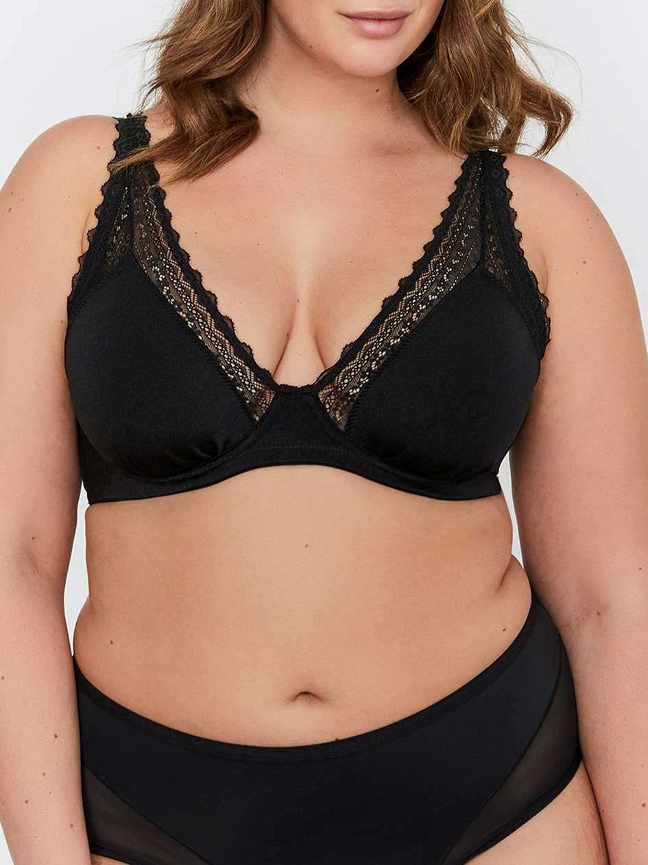 Déesse Collection - Triangle Lace Bra