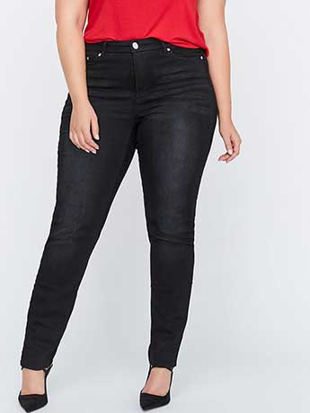Shaping Slim Leg Denim - L&L