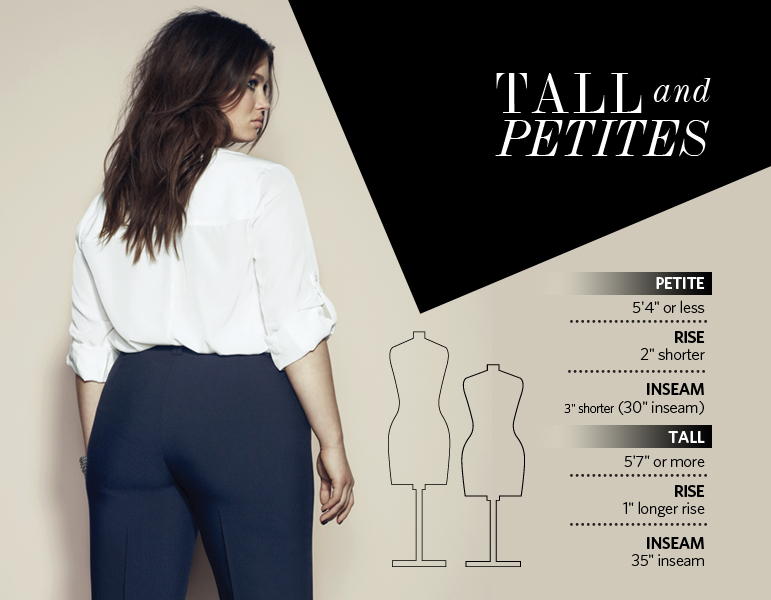 The Pant Fit Guide - Tall and Petite