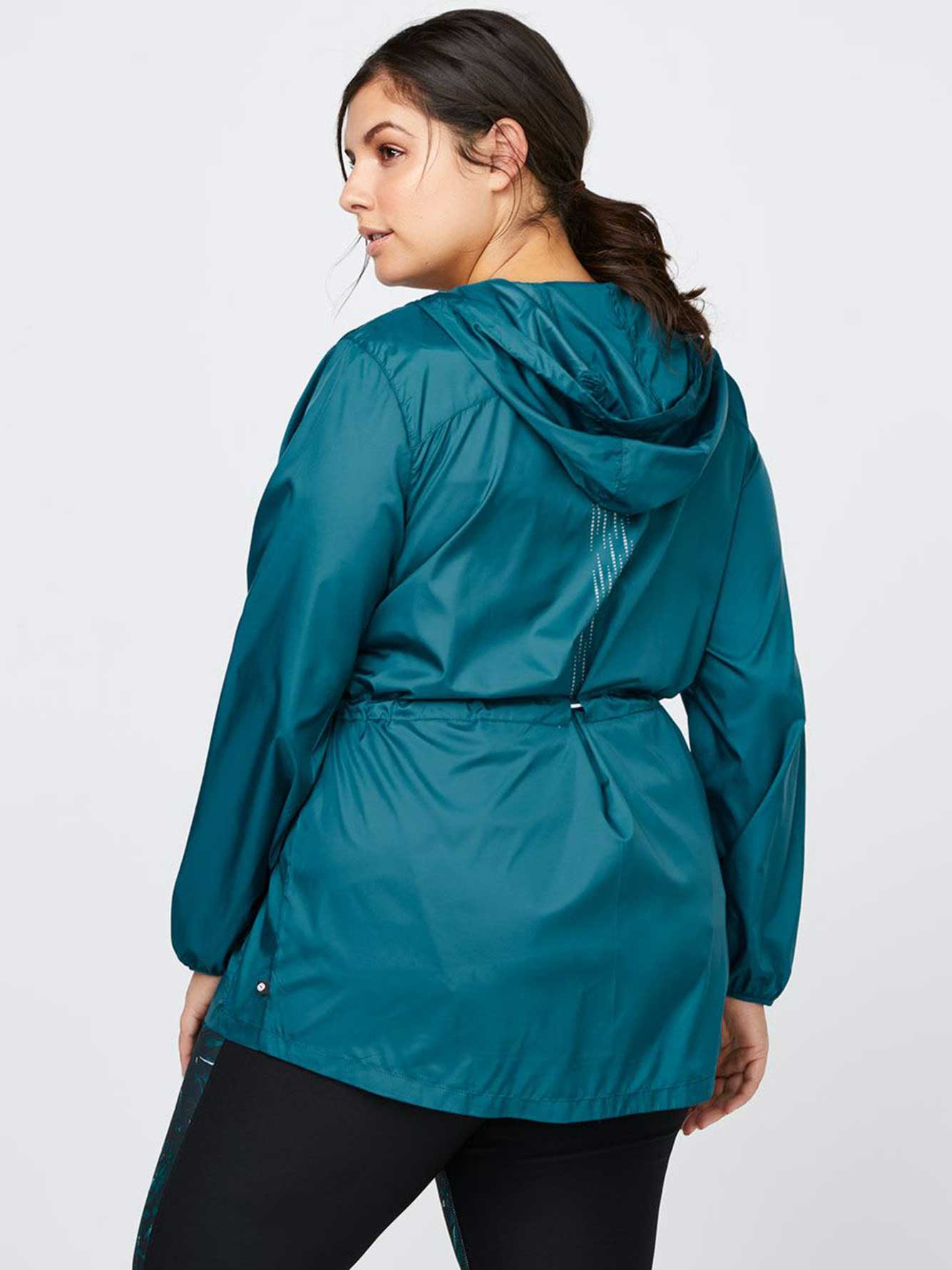 d76aa1956be Plus-Size Packable Jacket with Hood - Essentials