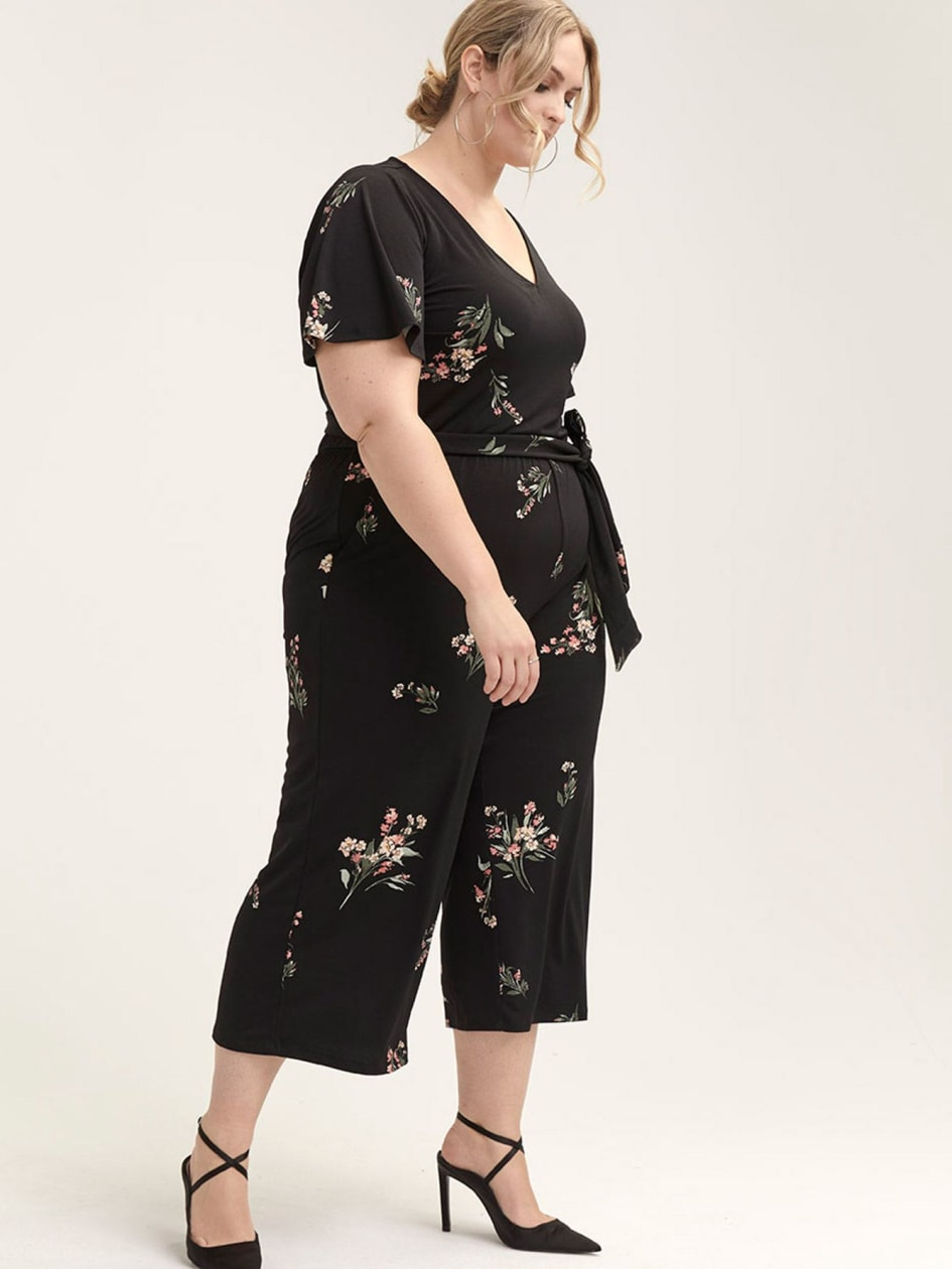 107f723efc7 Cropped Floral Jumpsuit - In Every Story