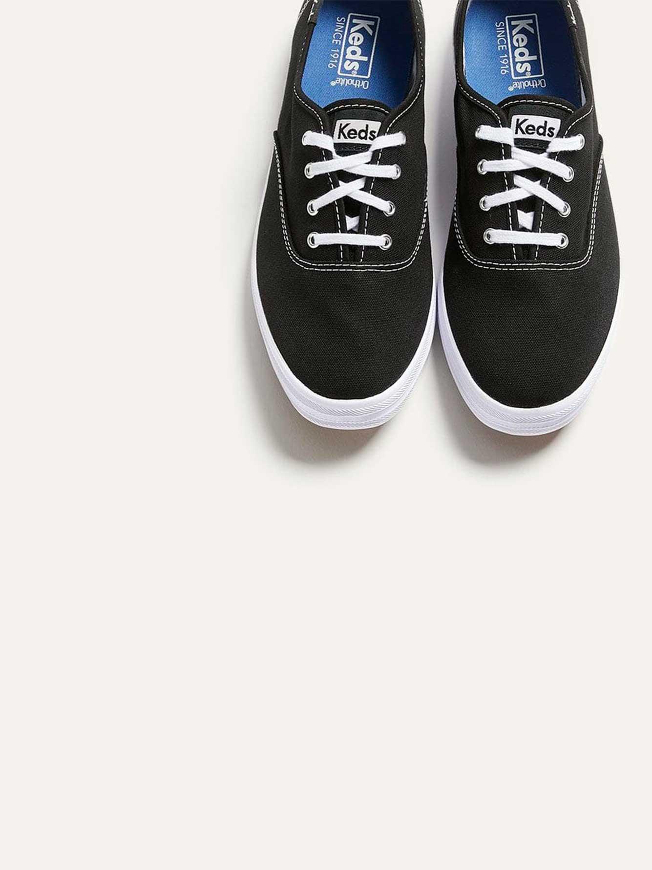 e317f191c66 Wide Champion Oxford Canvas Shoes - Keds