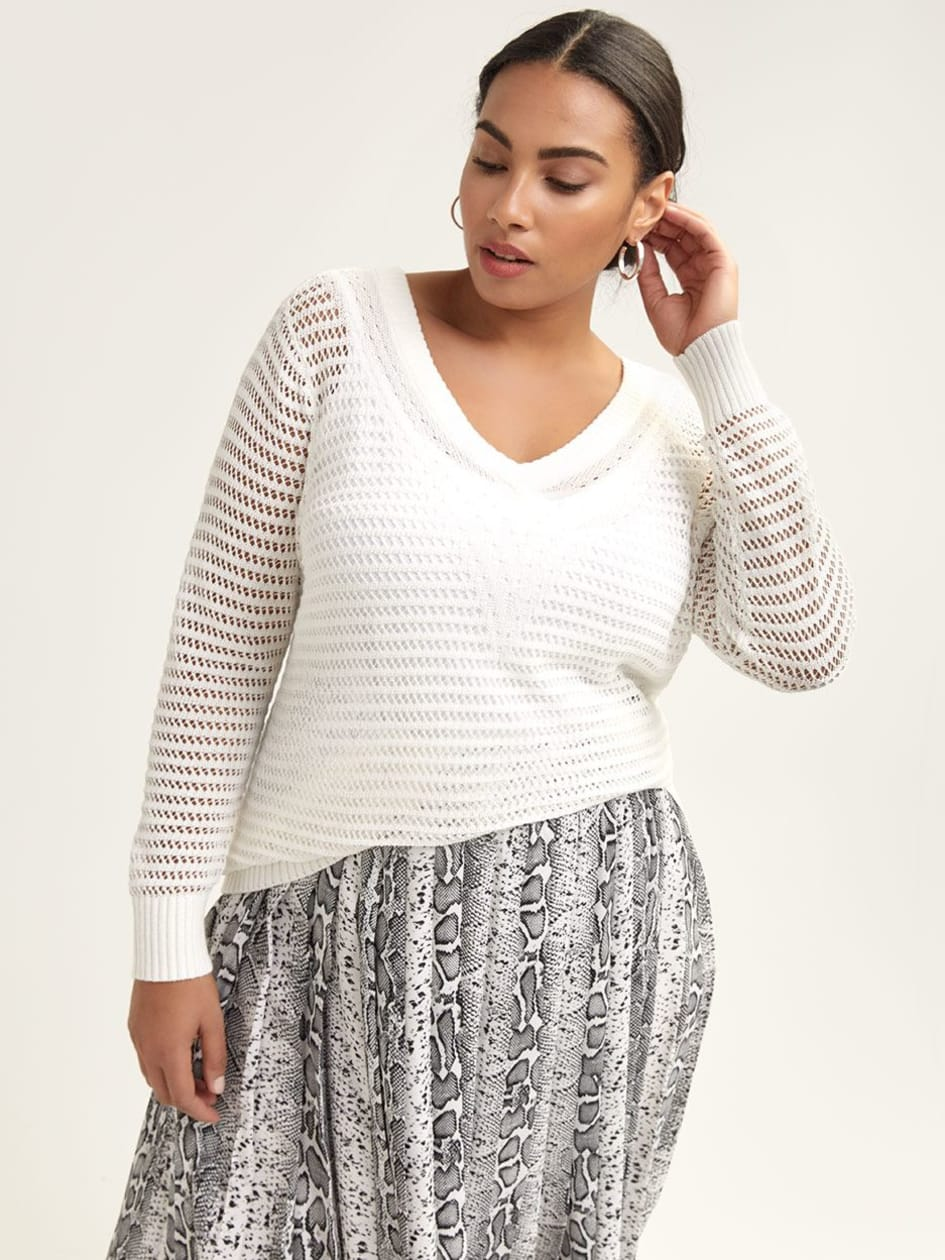 4429a7a06ec Women s Plus Size Sweaters