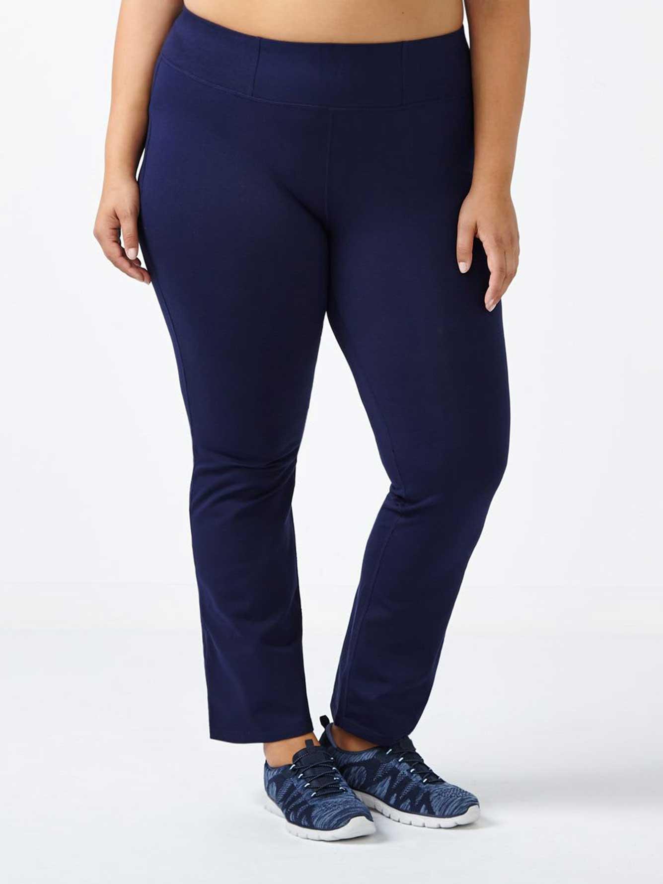 6a49b42bf8185 Essentials - Petite Plus-Size Basic Yoga Pant | Penningtons
