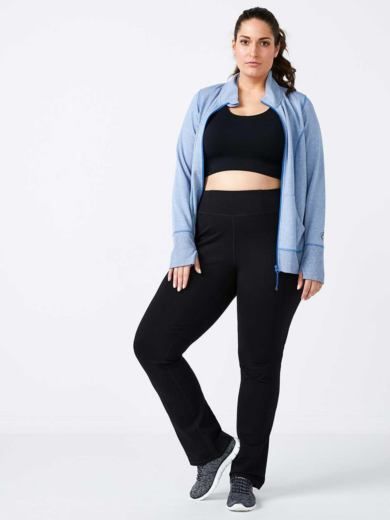276e712e73d3a Plus-Size Basic Yoga Pant - ActiveZone | Penningtons