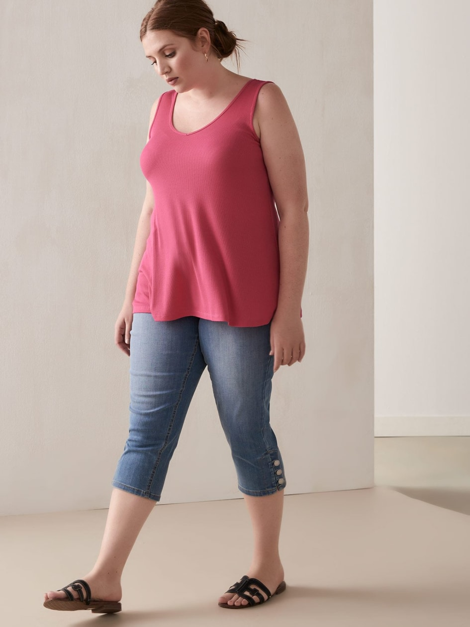 91caf4f07 Women Plus Size Tops, Blouses & Shirts Online | Addition Elle