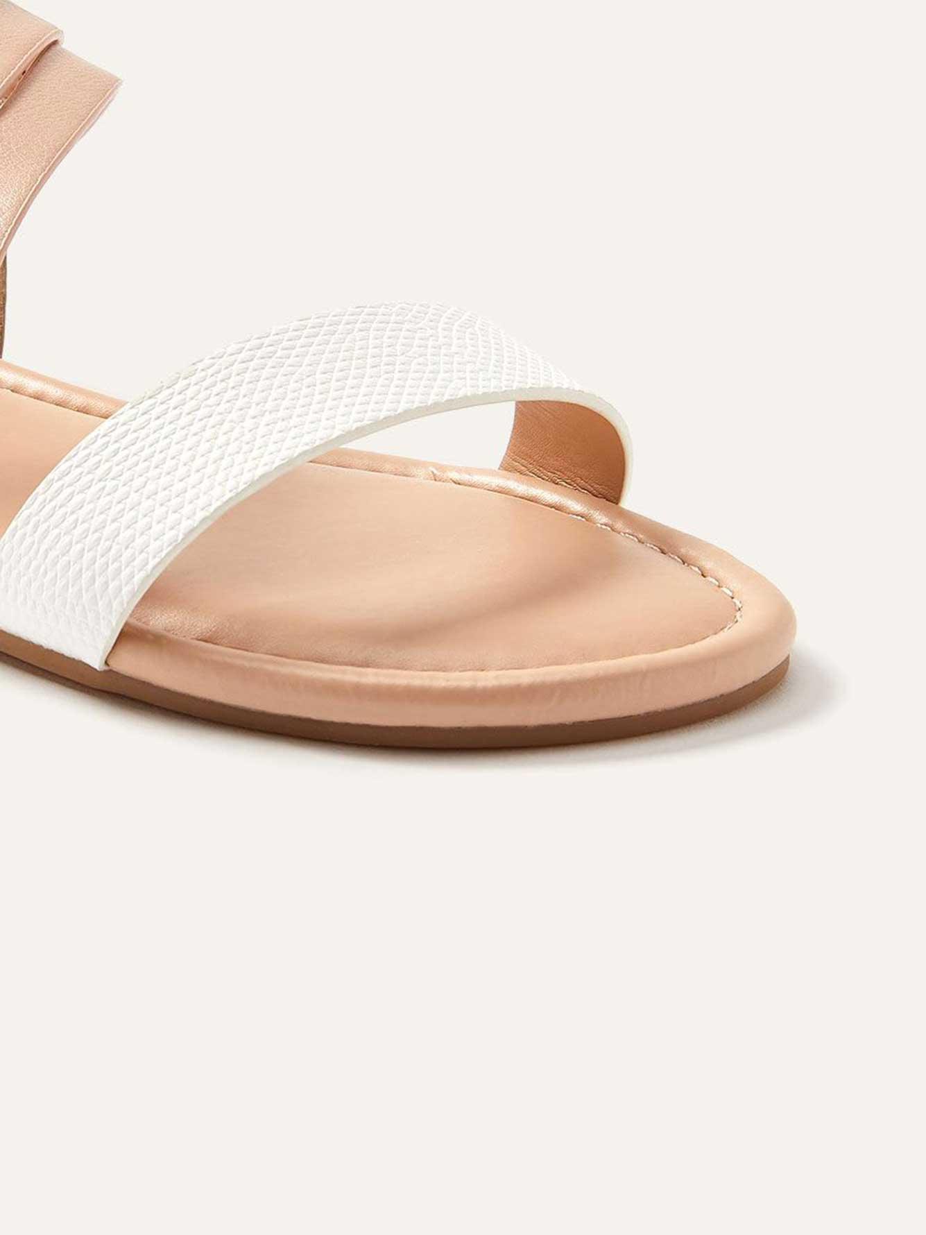 2ca21116fa Wide Multi-Strap Asymmetrical Flat Sandals | Penningtons