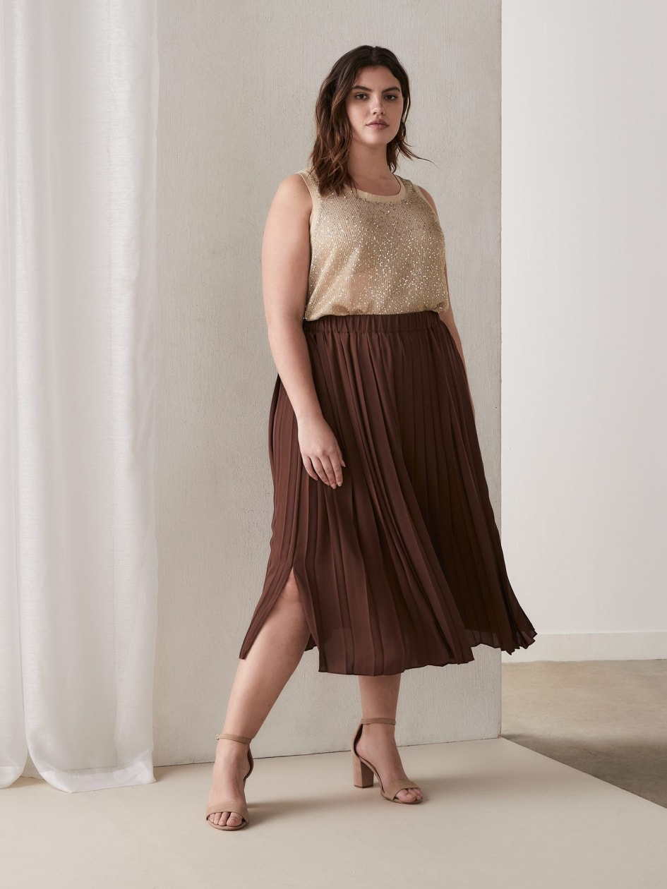 eafbca4ac Trendy Plus Size Skirts | Addition Elle