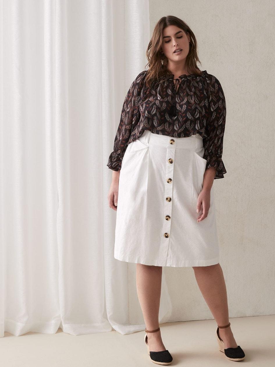 f16f4bceb5 Trendy Plus Size Skirts   Addition Elle
