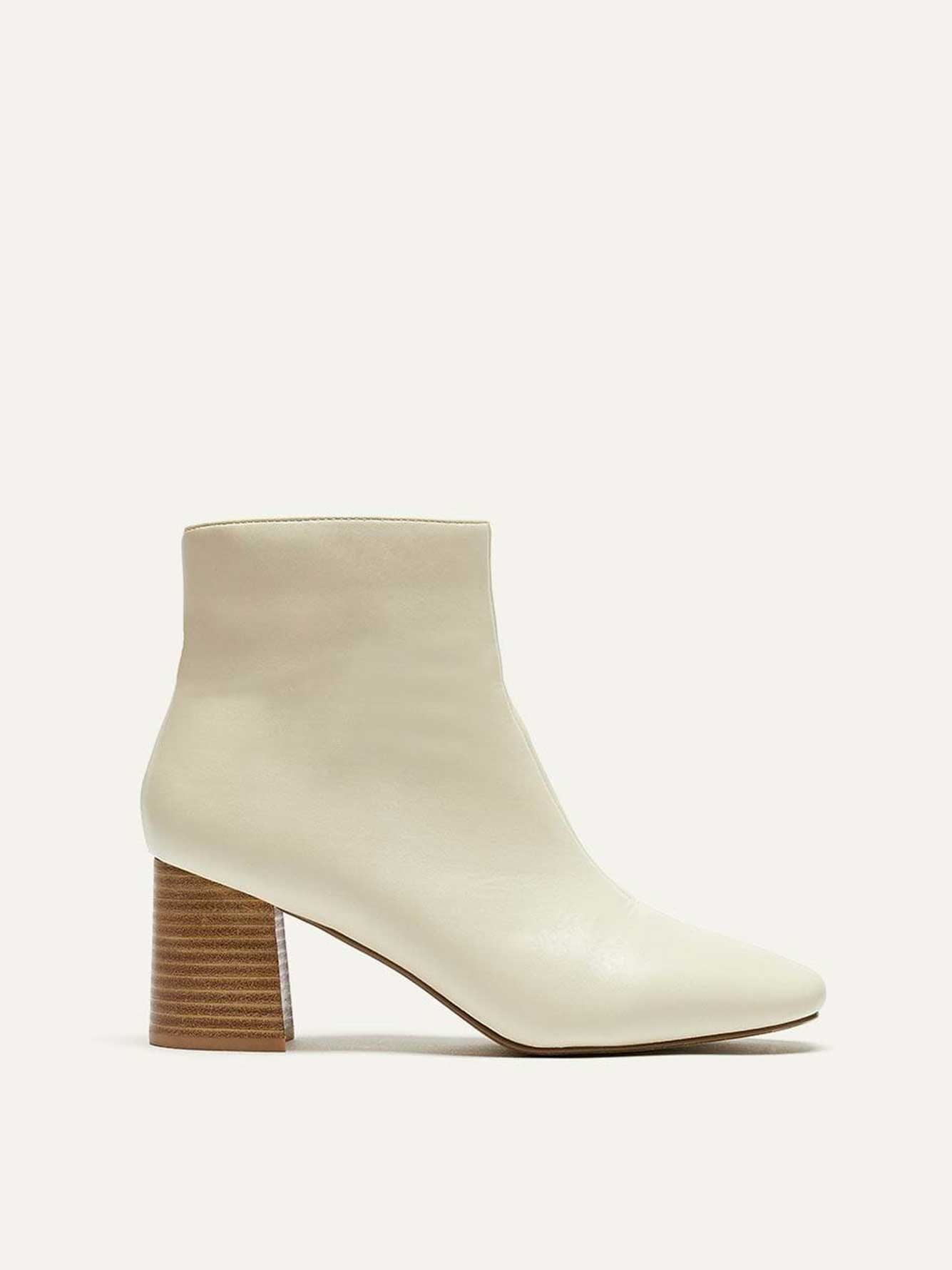 Ankle Boot with Square Heel - Lost Ink