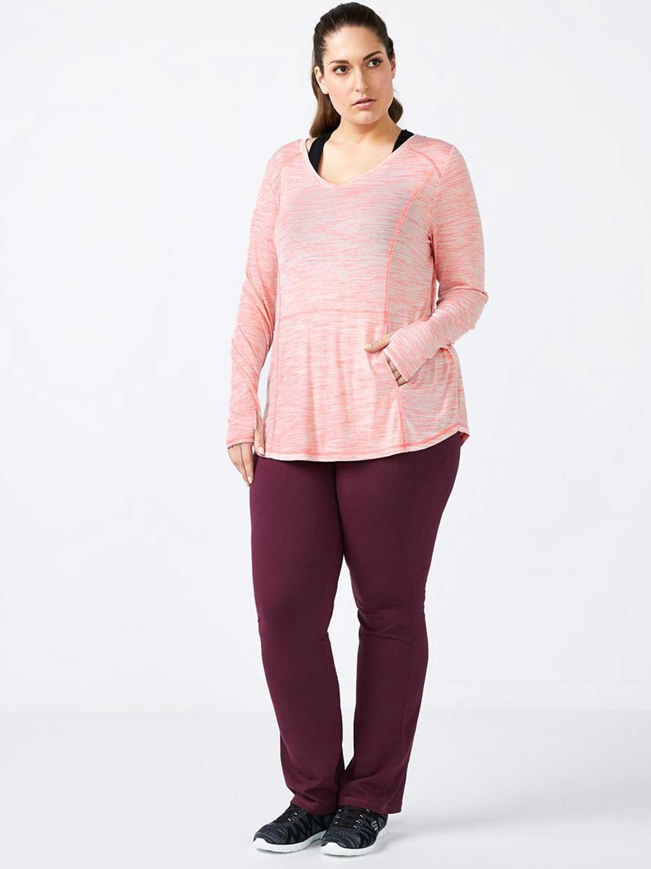 379946a9af7 ONLINE ONLY - Plus-Size Yoga Pant - Essentials