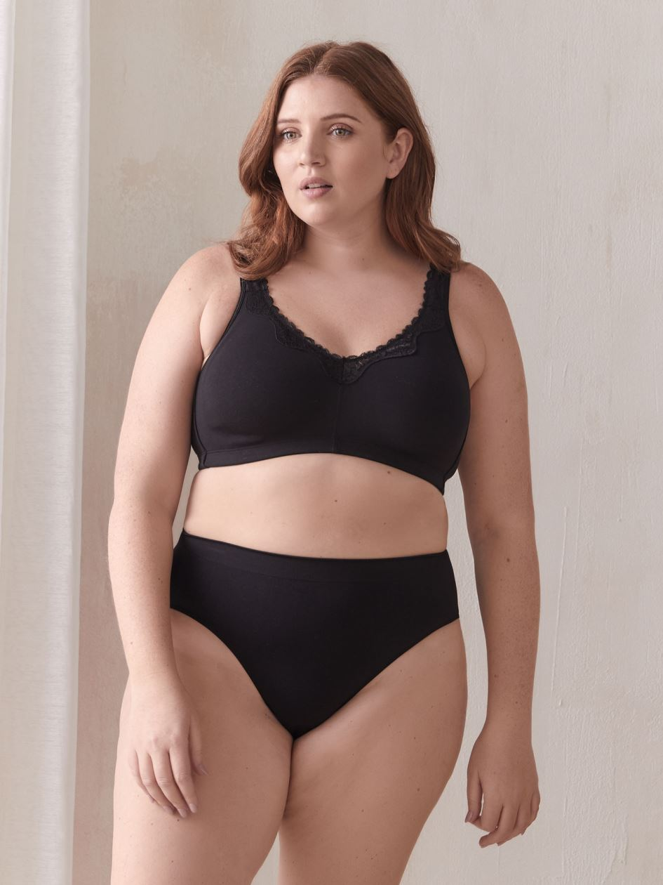 84bd2335c Plus Size Bras  Wire-Free Fit Available Online