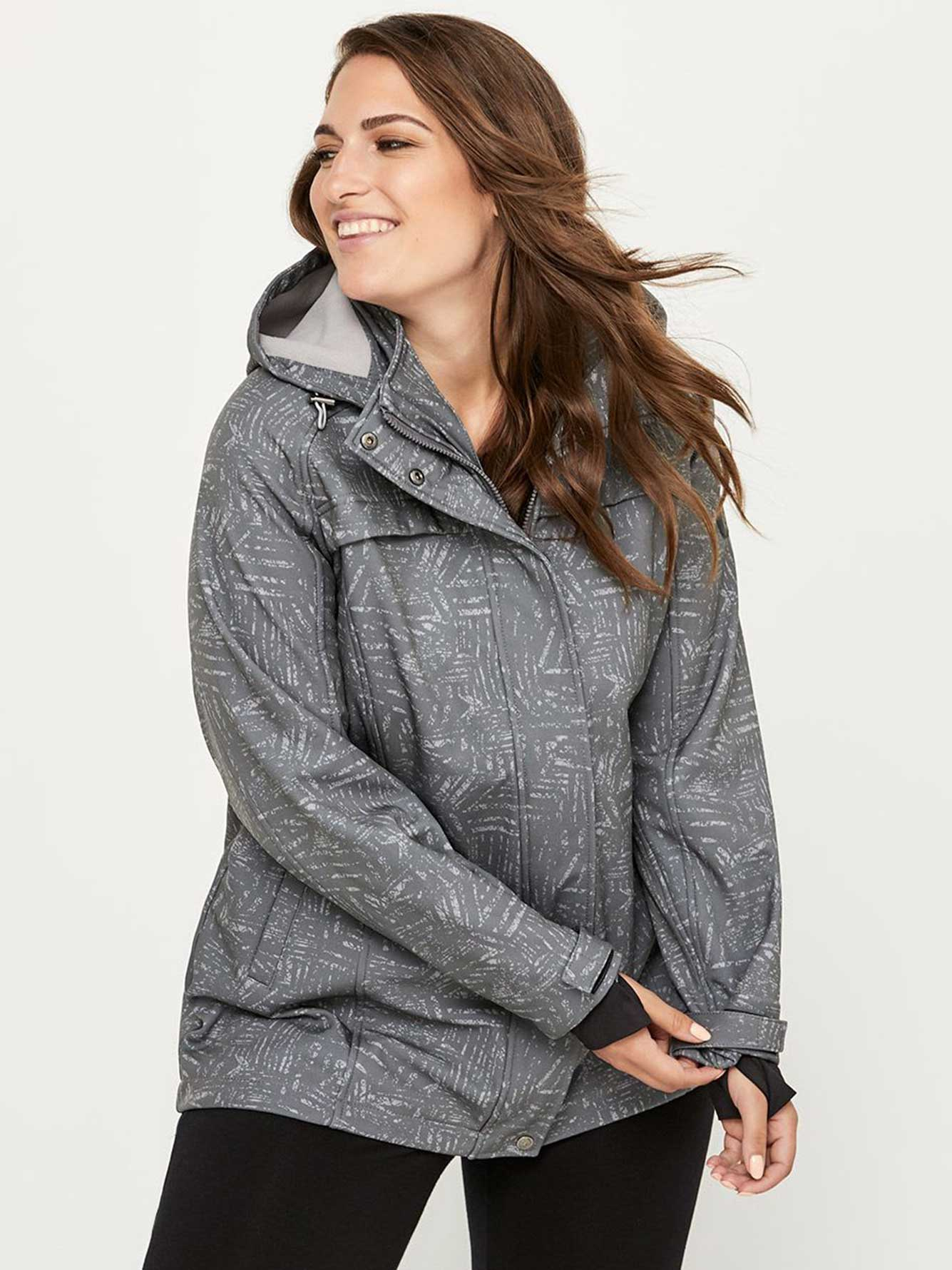 d4b4eb0254ede Plus-Size Soft Shell Jacket - ActiveZone