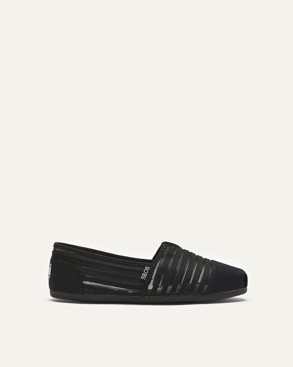 Wide Canvas & Mesh Slip-On BOBS Loafers - Skechers