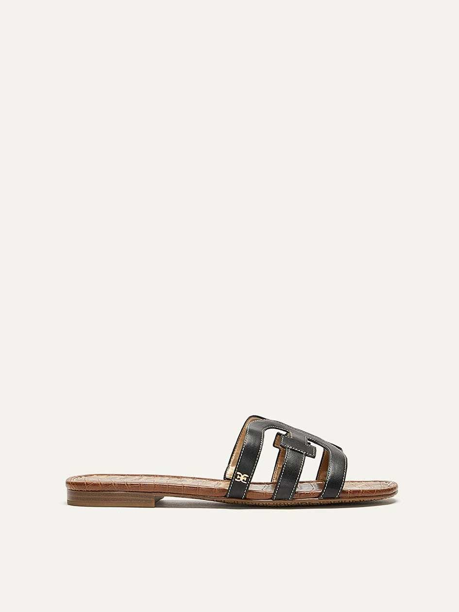 a0e3d2b48 Wide Leather Sandals - Sam Edelman