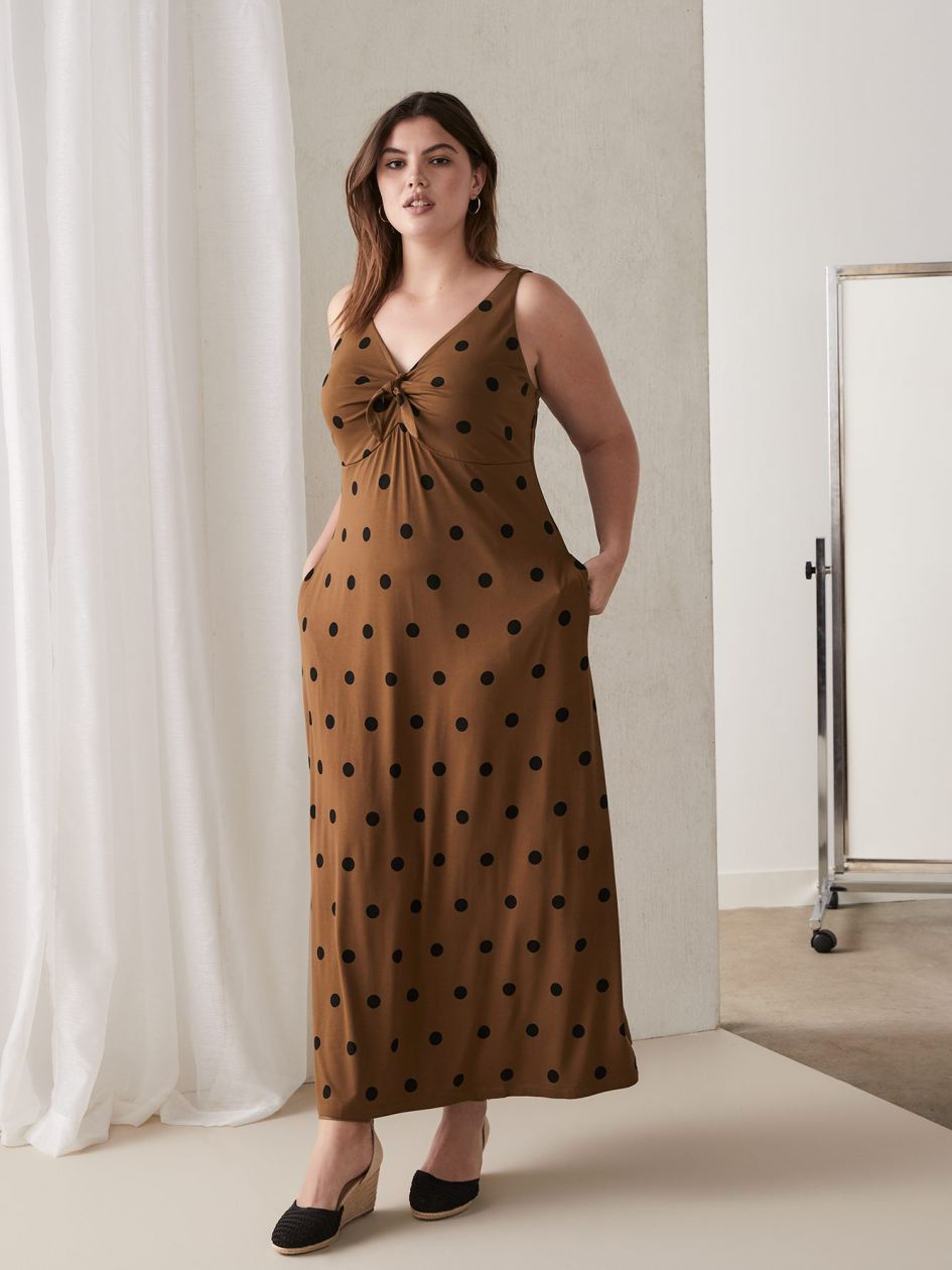 Shop Plus Size Maxi Dresses Online | Addition Elle Canada