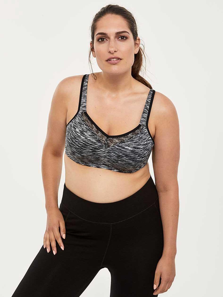d59623a668a Shop Plus Size Sports Bras for Plus Size Women | Addition Elle