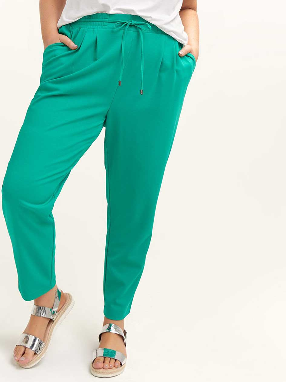 5cca0af4c Pull-On Ankle Pant with Smocked Waist