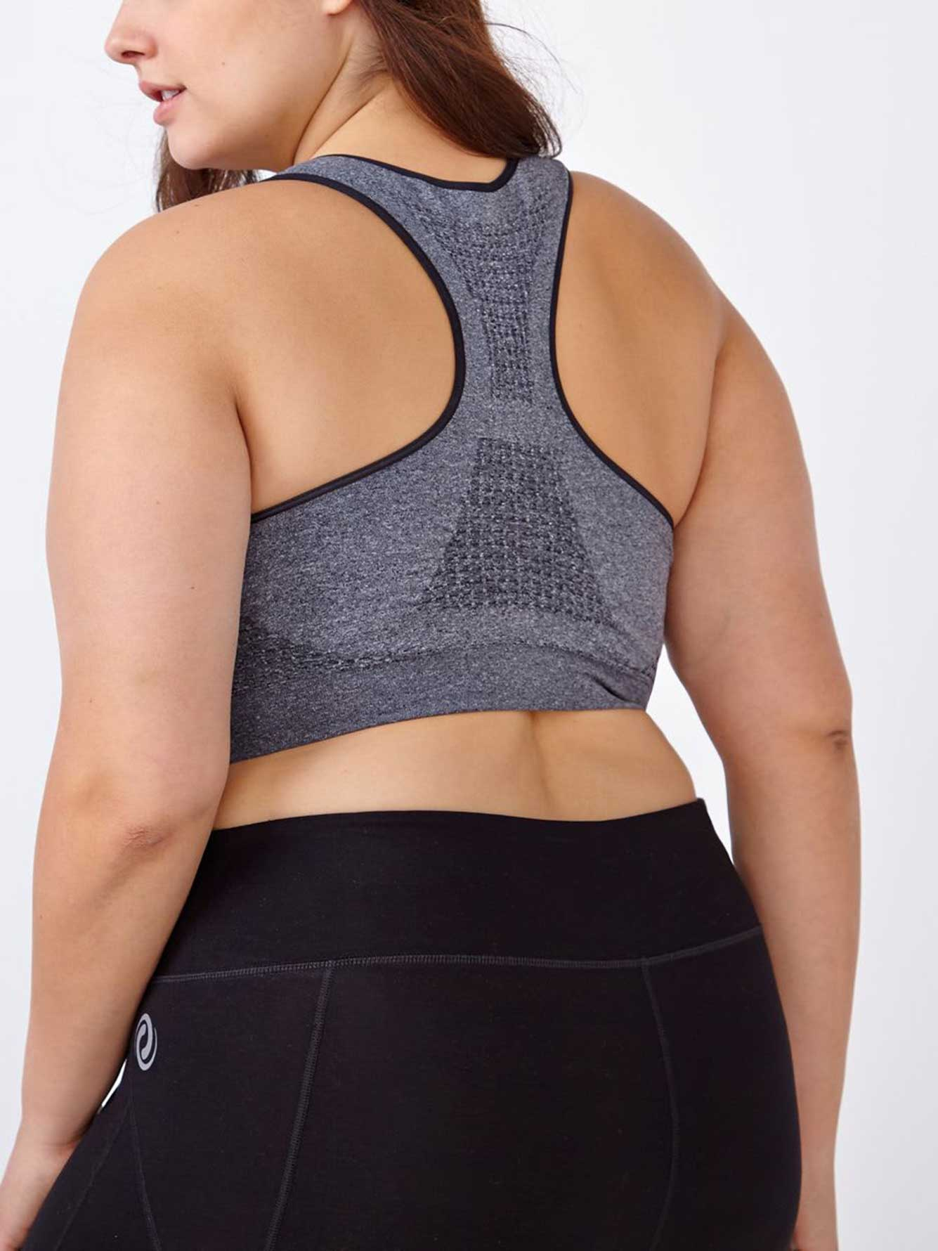b2e2915fbf Seamless Bralette with Mesh - ActiveZone