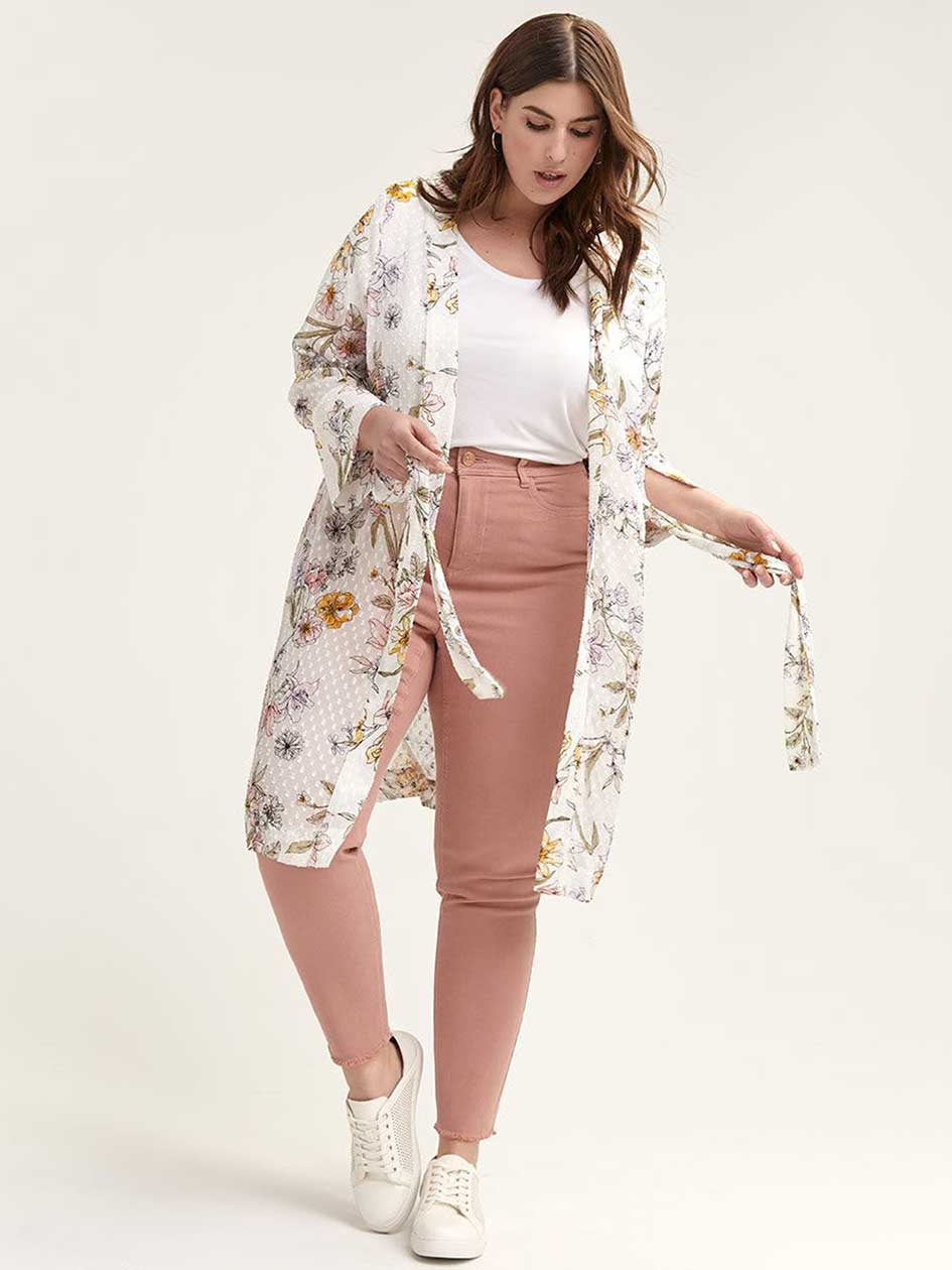 Belted Kimono Blouse - In Every Story