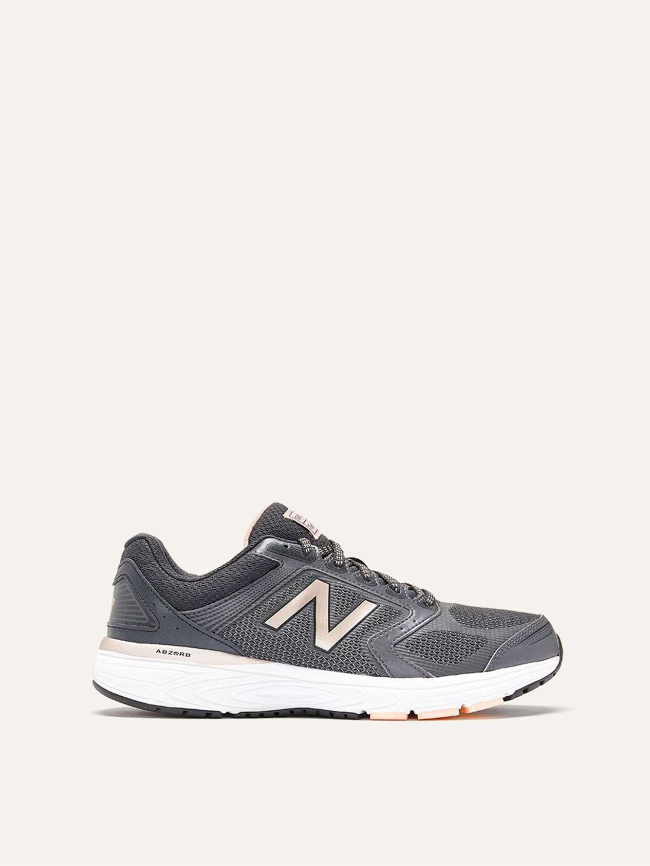 836efbe3c255e9 Wide Width Sneakers with Metallic Details - New Balance | Penningtons