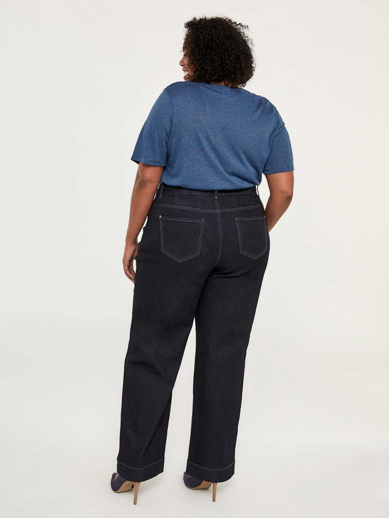 bf44f31e511 ONLINE ONLY - Tall Curvy Fit Wide Leg Jean - d C JEANS