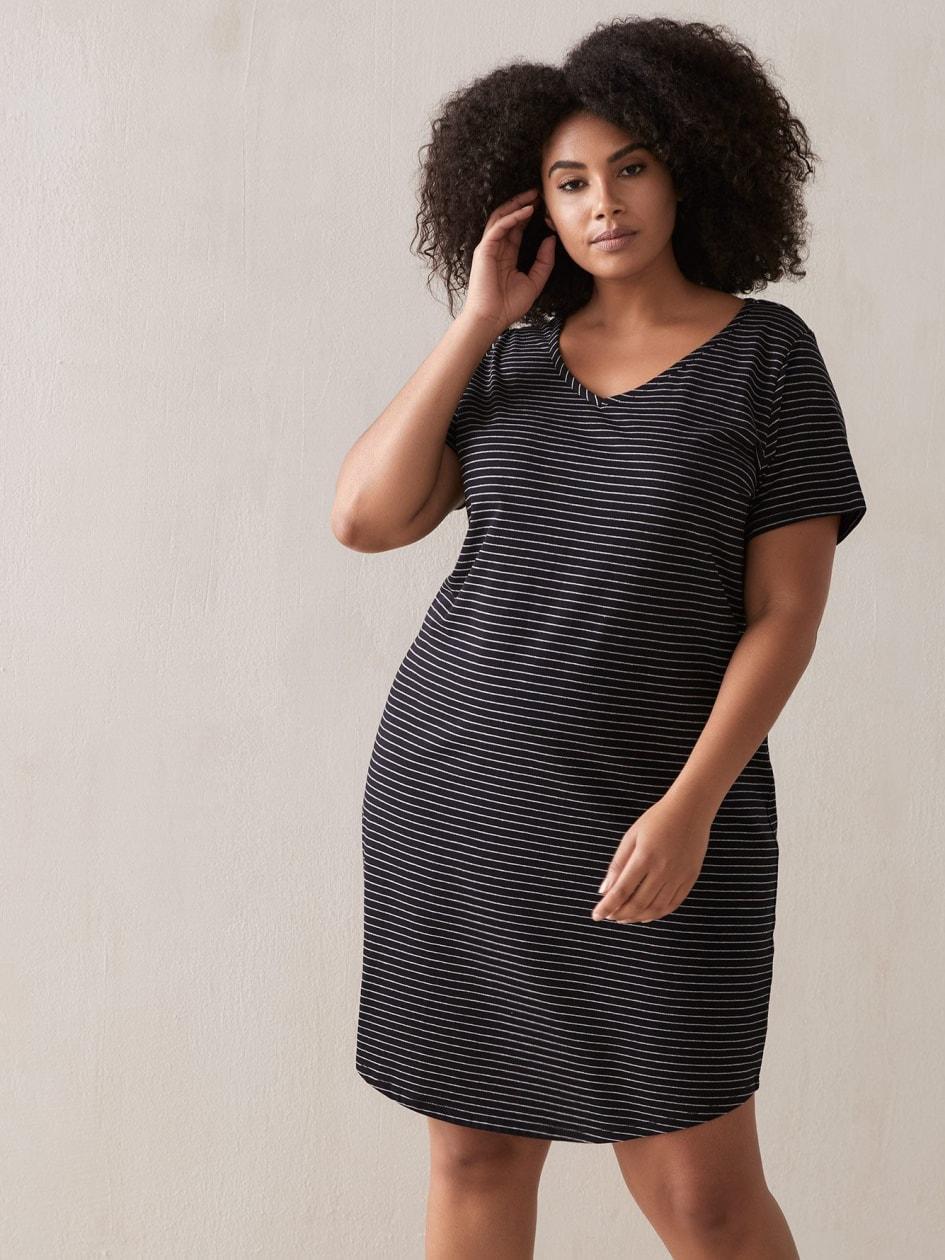 829cd1708 Women's Plus Size Sleepwear: Pajamas, Sleepshirts | Addition Elle