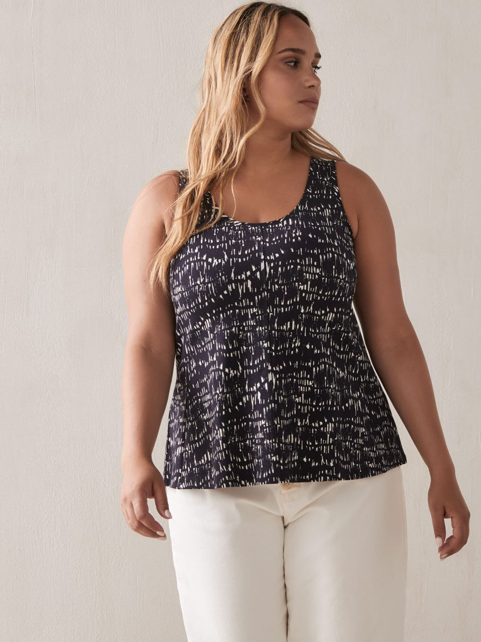 bc7890a412274 Plus Size Camis & Tanks for Women | Addition Elle