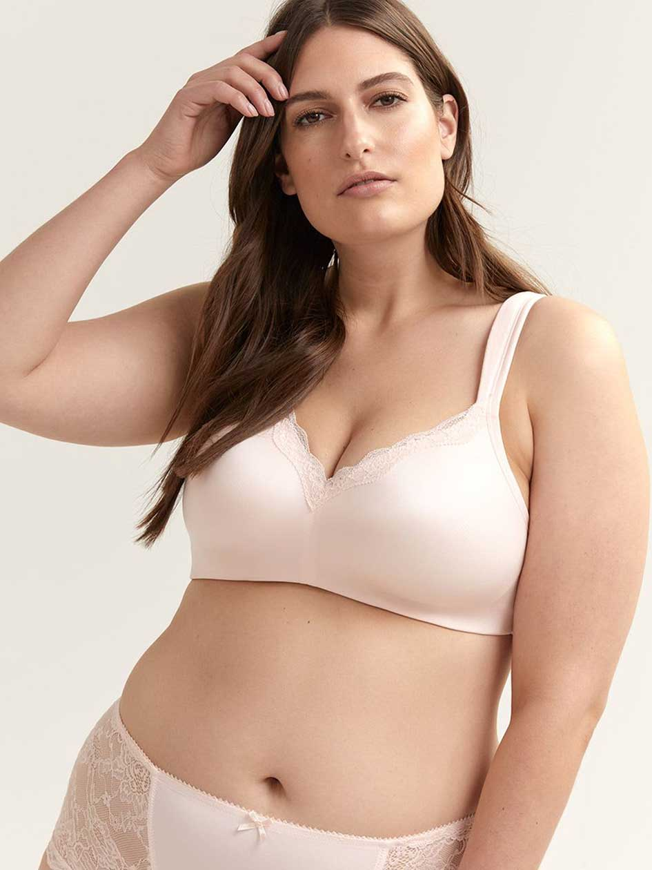 5c143fbf4 Plus Size Bras  Wire-Free Fit Available Online