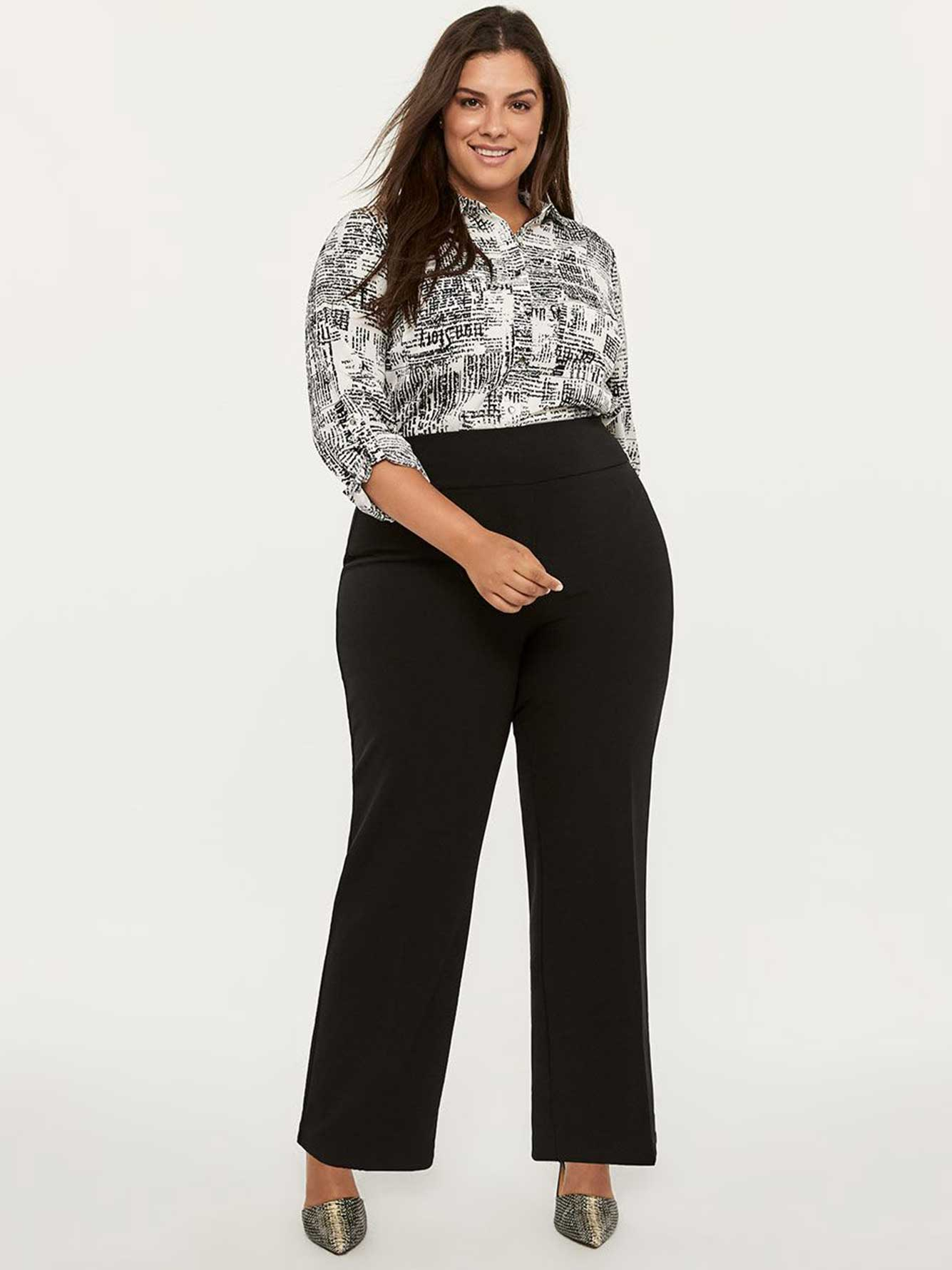 944b03dc2a Savvy Universal Fit Wide Leg Pull-On Pant - In Every Story | Penningtons
