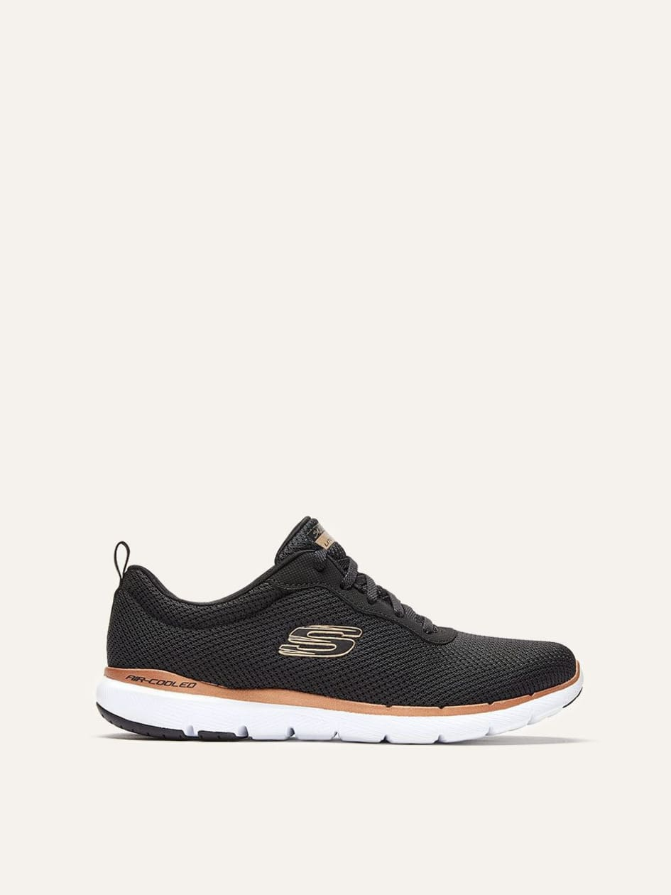 Skechers - Laced Sneaker with Mesh