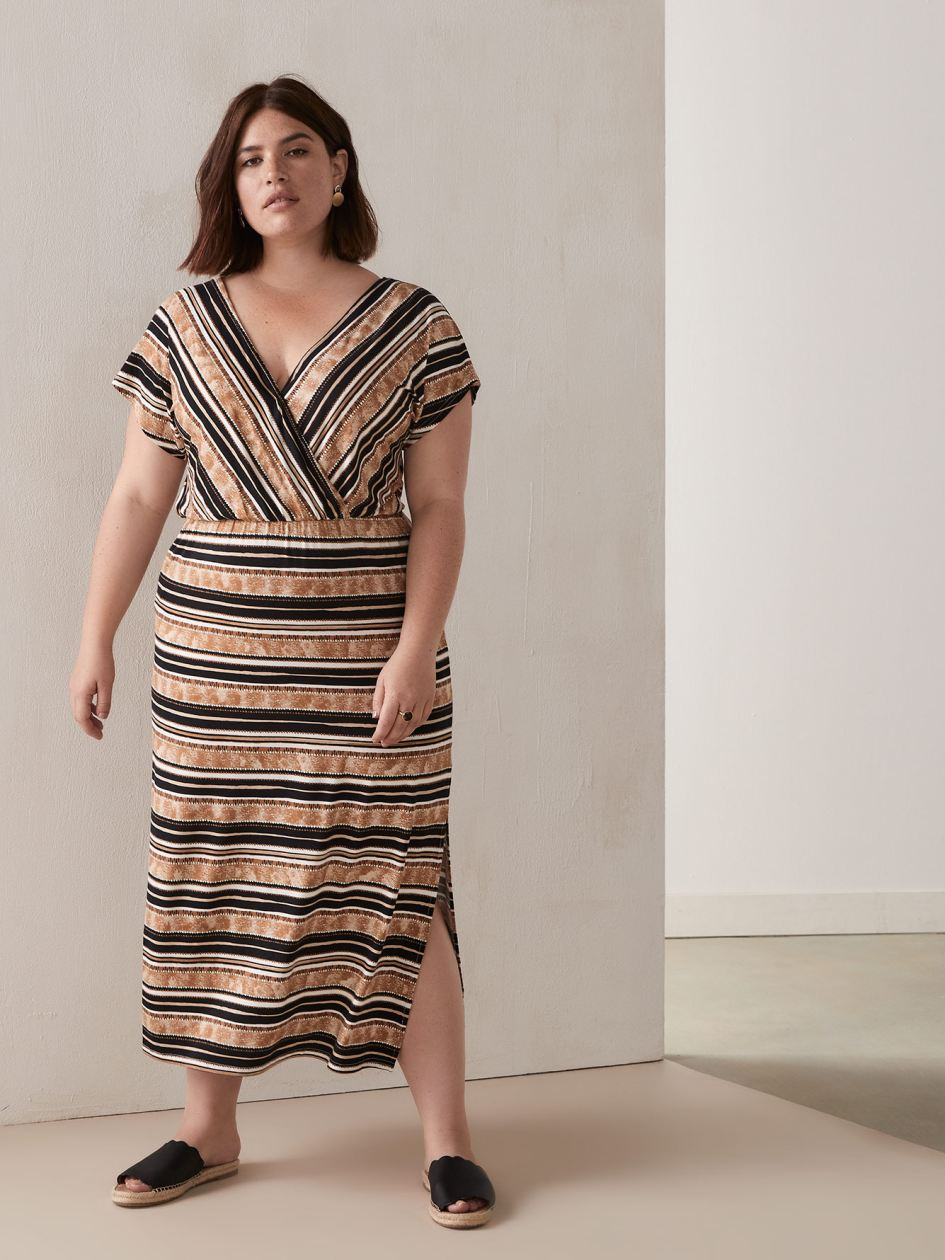 35685efcd28 Plus Size Dresses - Shop Online | Addition Elle Canada
