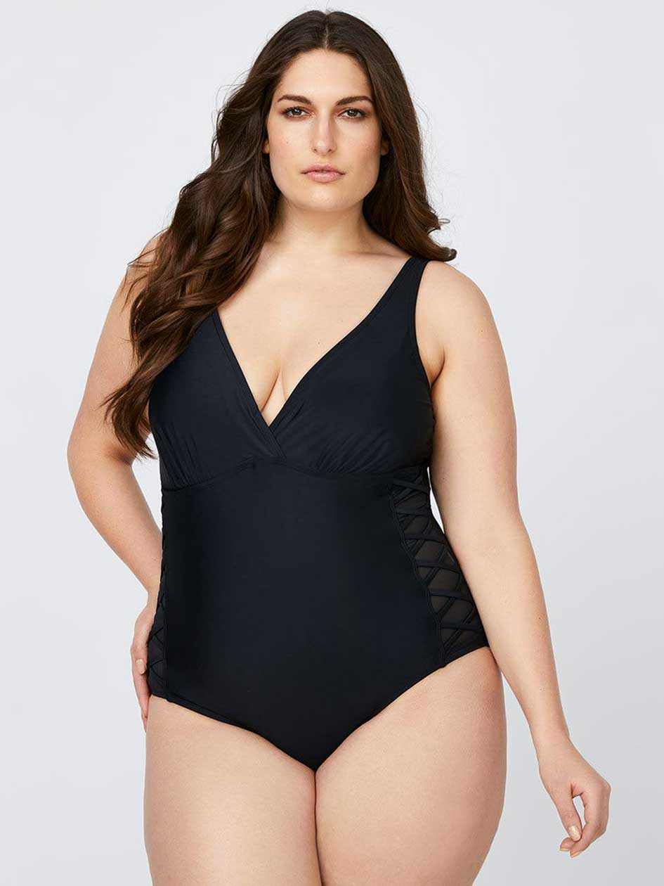 Plus Size Swimwear For Women Addition Elle