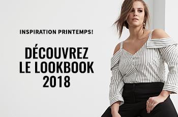 Inspiration printemps ! Découvrez le Lookbook 2018.