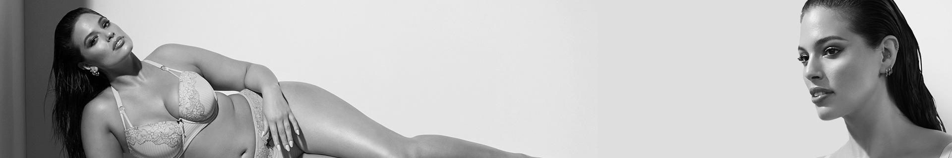 La séduction est un état d'esprit et Ashley Graham, top-modèle taille plus, militante et créatrice de lingerie, veut partager sa vision sexy de la lingerie! Luxueuse et sensuelle jusque dans ses moindres détails, la lingerie d'Ashley est faite pour être vue.