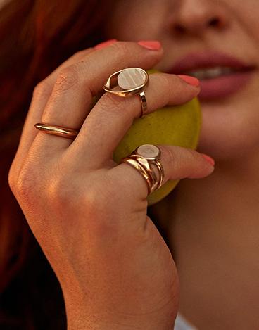 Pack of 5 rings