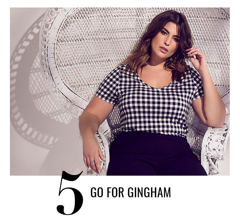 Go for gingham