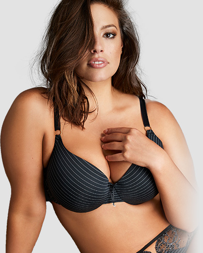 06d9bd33e28 Ashley Graham Plus Size Lingerie Collection
