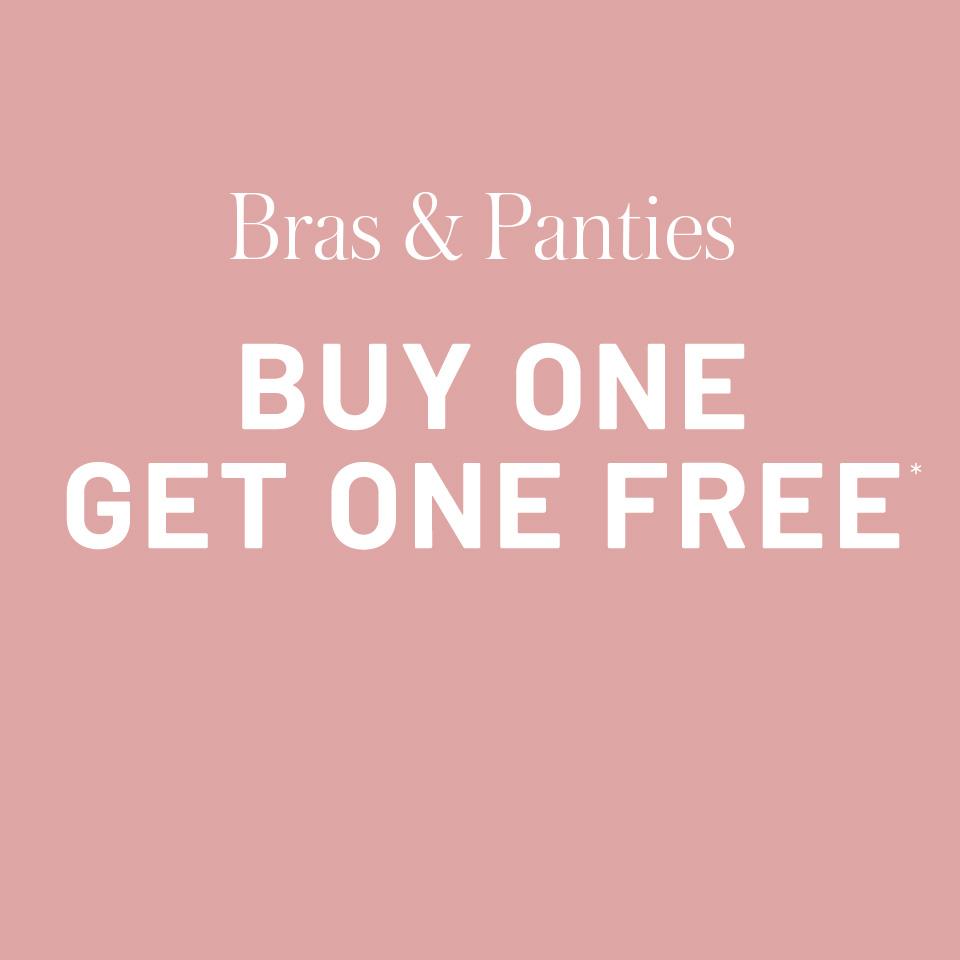 Bras & panties - Buy one get one free