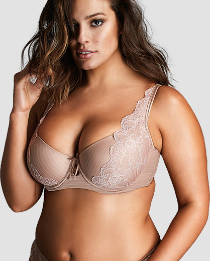 662c1e21bf1a5 Ashley Graham Plus Size Lingerie Collection
