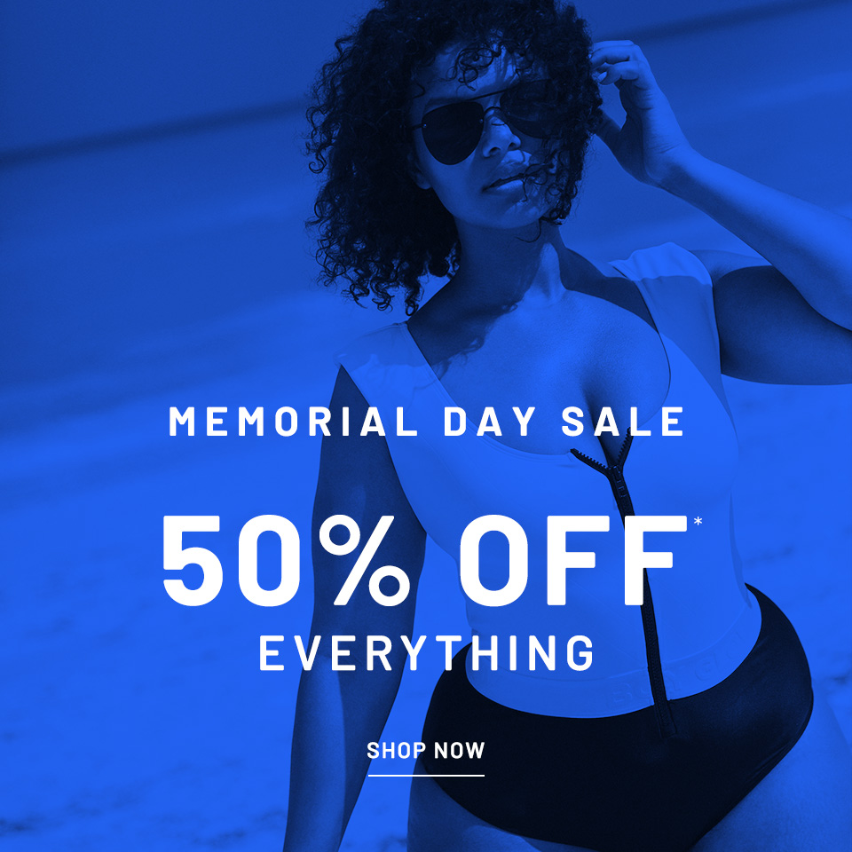 Memorial day sale 50% off everything