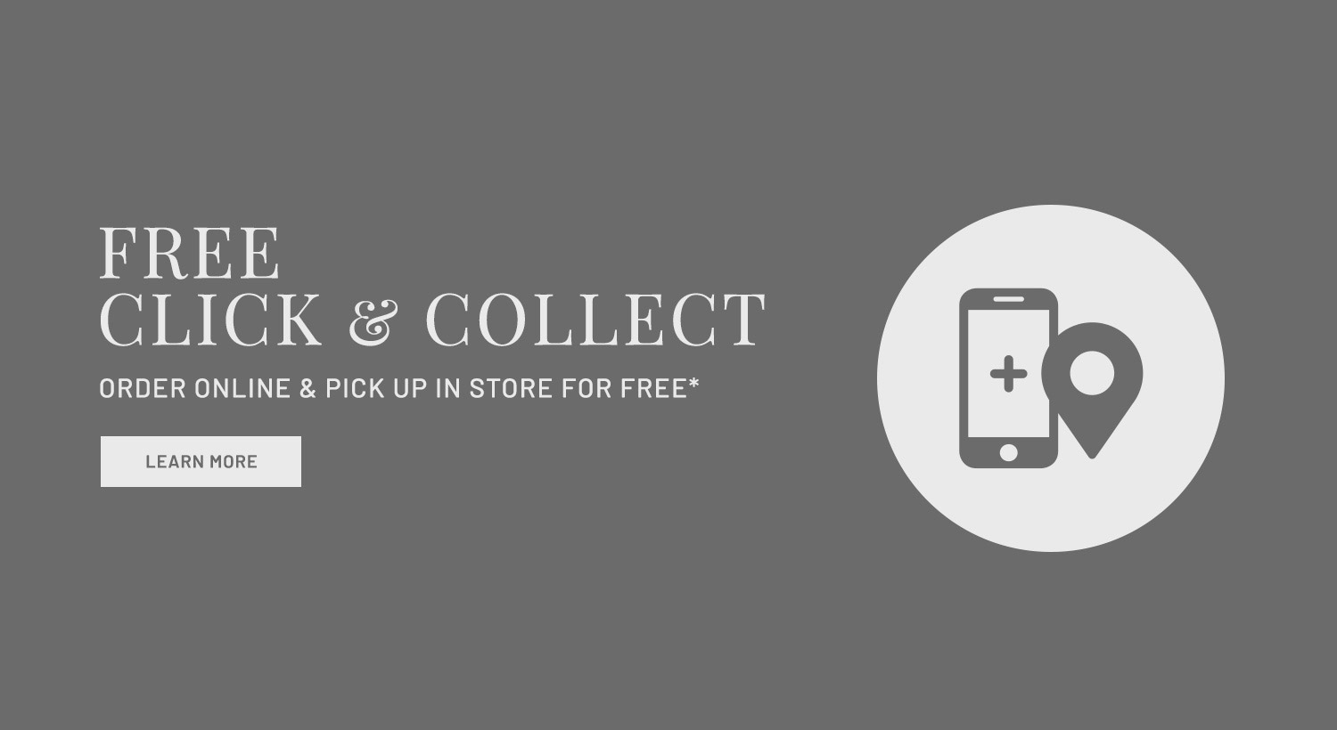 ORDER ONLINE & PICK UP IN STORE FOR FREE*